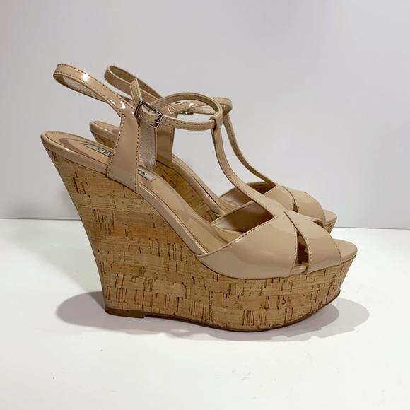 1a7c670920d Steve Madden Woonderr platform wedge sandal size 9